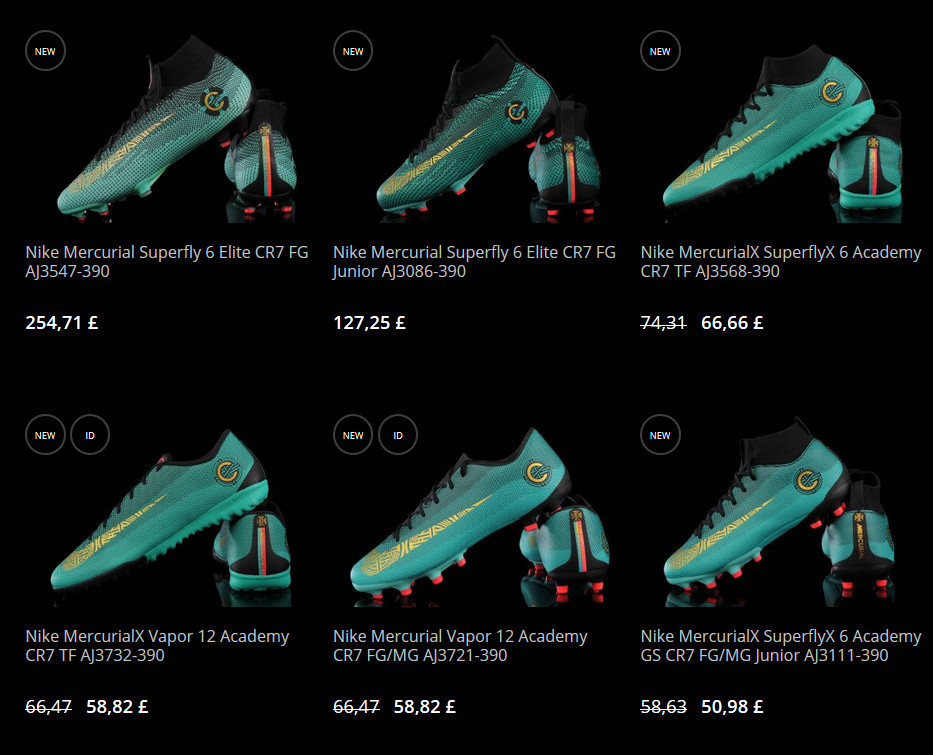 r-gol online shop where you can find nike-mercurial - many sizes and colors